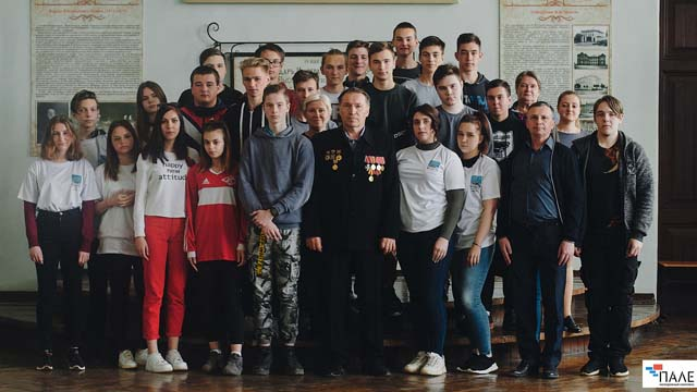 7 встреча регионального этапа всероссийской акции «Ромашка Победы».