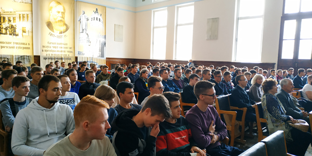 Конференция, посвящённая 125-летию электротехнического отделения.