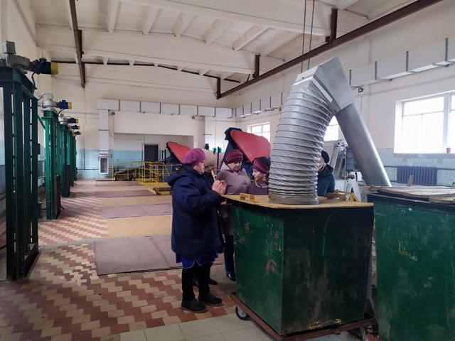 Преподаватели Костромского энергетического техникума посетили станцию очистки сточных вод
