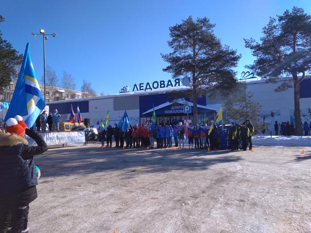 Волонтёры на открытие зимней спартакиады 2018 4