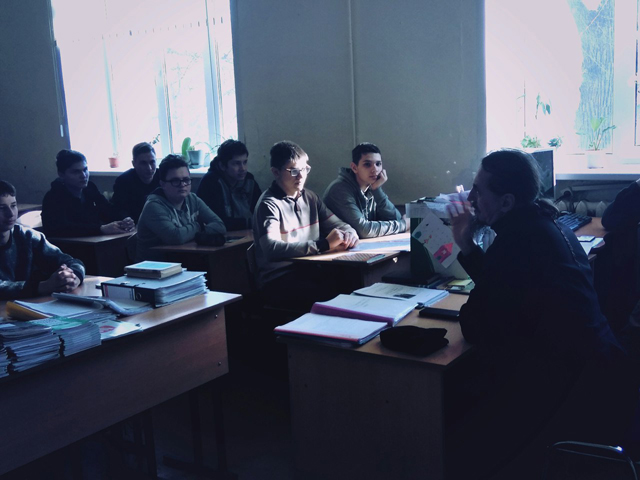 Встреча с отцом Иванов 2018 1