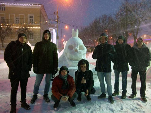 Открытие областного фестиваля-конкурса снежно-ледовых скульптур «Кострома - зимняя сказка».
