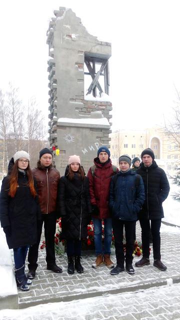митинг, посвященный 75-летию снятия блокады Ленинграда