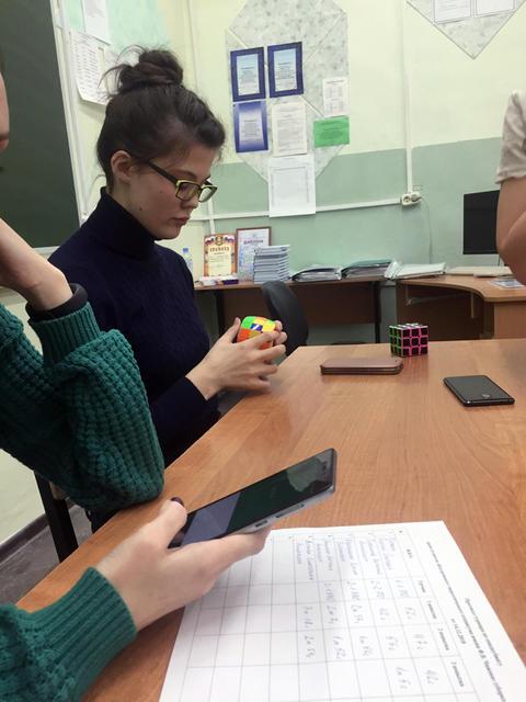 турнир по спидкубингу среди студентов