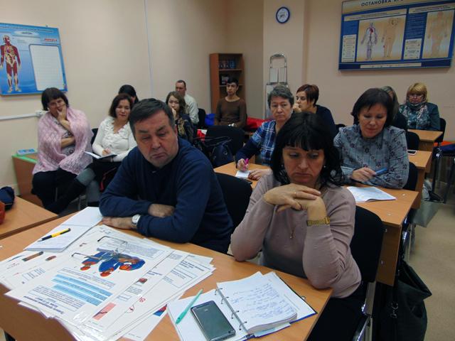 семинар «Обучение педагогических работников  навыкам оказания первой помощи».