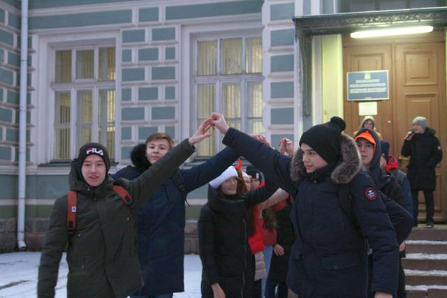 Костромской энергетический техникум встретил игровой программой «Гуляй студенчество».