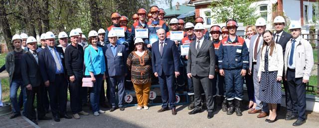 отборочные соревнования профессионального мастерства бригад по ремонту распределительных сетей Костромаэнерго