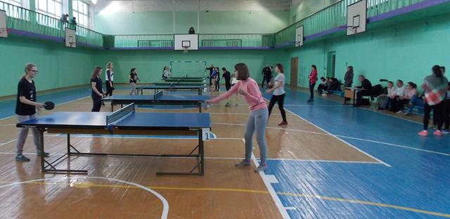 Соревнования по настольному теннису город 2017 2