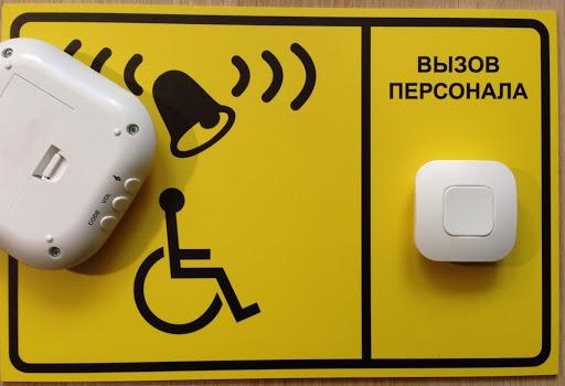 кнопка вызова персонала