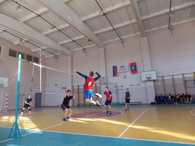 Турнир по волейболу среди сборных команд профессиональных образовательных организаций