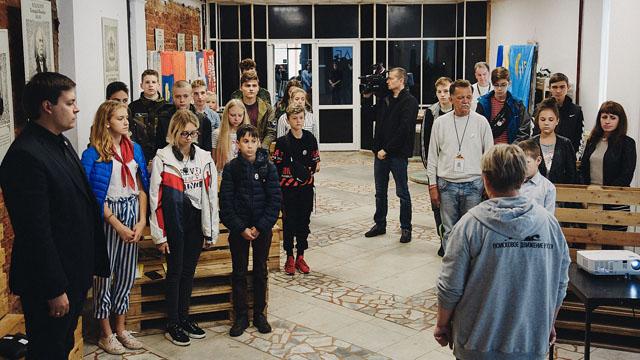 встреча бойцов Костромского городского поискового отряда «Харон» с поисковиками Луганской Народной Республики.
