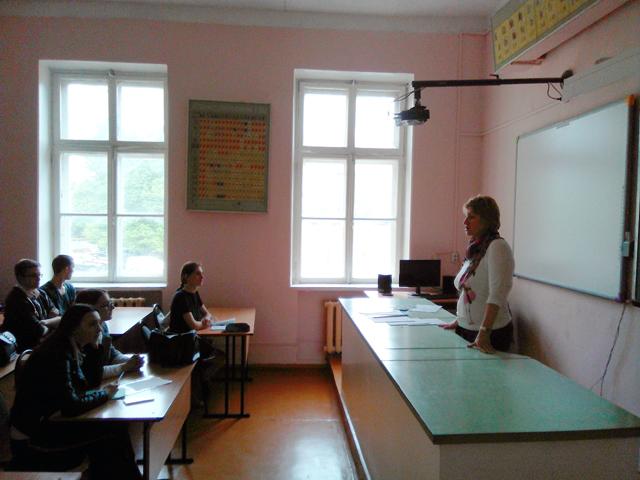 Встреча студентов с директором по персоналу одного из крупных предприятий Костромы – ЗАО «Пегас»